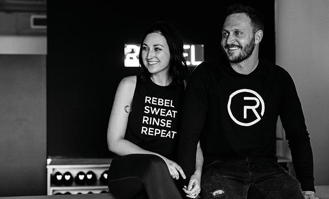 Rebel House creators Devin and Nina Pearson - COURTESY PHOTO