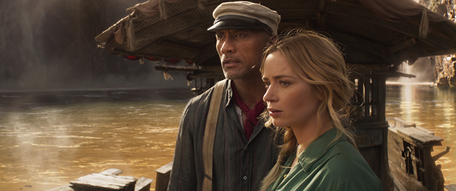 Dwayne Johnson and Emily Blunt in Jungle Cruise - WALT DISNEY PICTURES