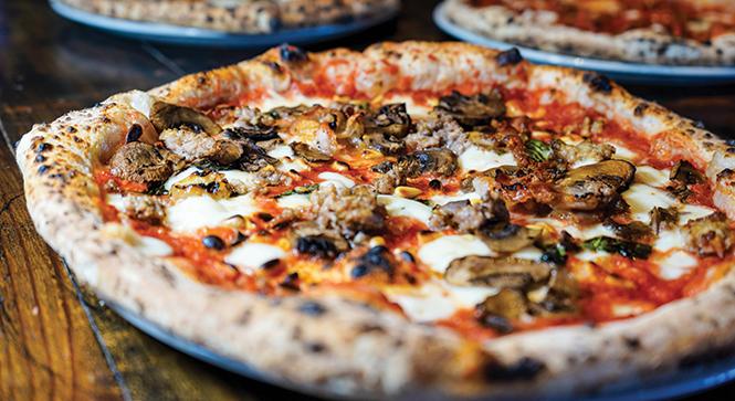 Delicious flatness: - Settebello pizza