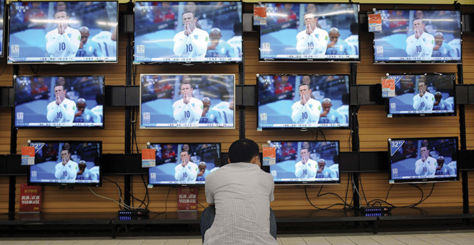 The world, according to flat-screens