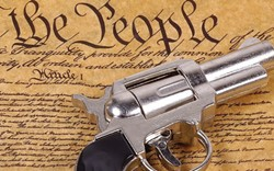 """""""A well regulated Militia, being necessary to the security of a free State, the right of the people to keep and bear Arms, shall not be infringed."""" - —The Second Amendment"""