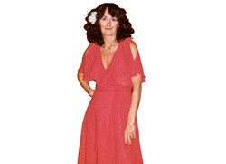 My mom, Rosemarie, dressed for the disco in 1979.