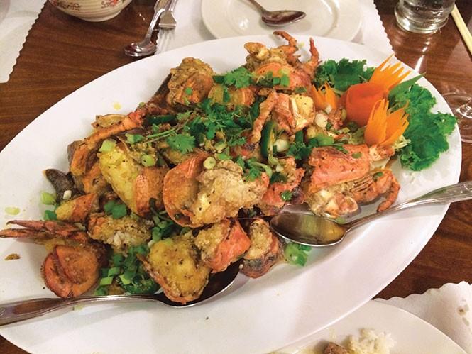 Lotus of Siam's Fried Lobster