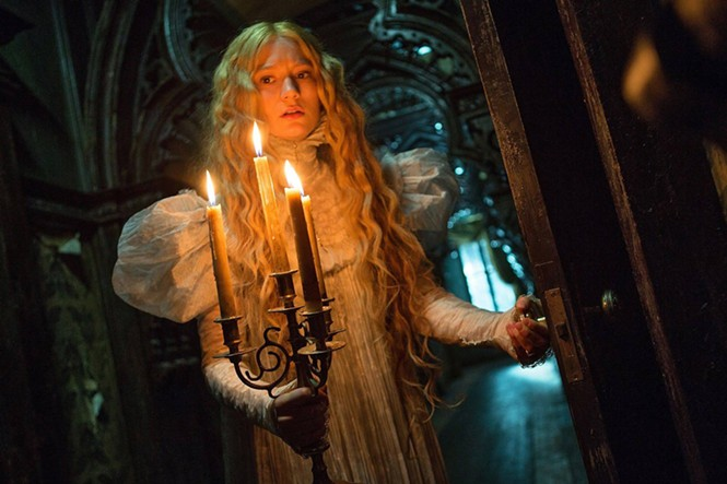 Mia Wasikowska stars as Edith Cushing in Crimson Peak.