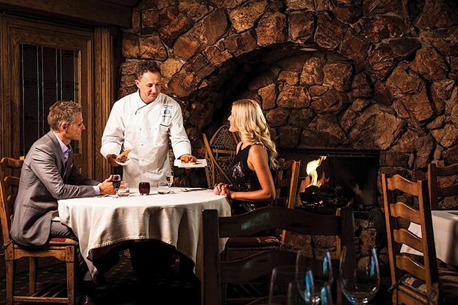 Glitretind Chef Zane Holmquist will cook up a New Year's Eve feast (Stein Eriksen Lodge).