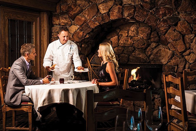 Glitretind Chef Zane Holmquist will cook up a New Year's Eve feast (Stein Eriksen Lodge).