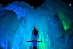 Ice Castles, Midway