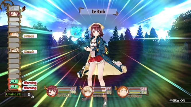 Beware my ice bomb! And stop looking at my skirt. - KOEI TEMCO