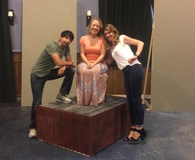 Stefan Espinosa, April Fossen, Cassandra Stokes-Wylie - JENNIE SANT
