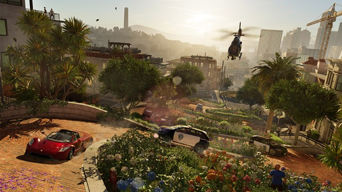 Don't care what kind of game you make, driving on Lombard Street is total bullshit in any reality. - UBISOFT