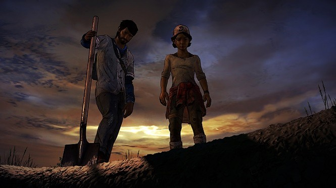 Yep, I think we buried that last of this world's happiness pretty good. - TELLTALE GAMES
