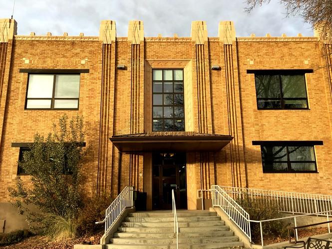 Moab City Hall. - STEPHEN DARK