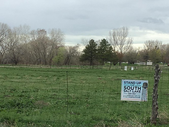 This open field at 3380 S. 1000 West in South Salt Lake has been approved as the site of a new homeless shelter. - DW HARRIS