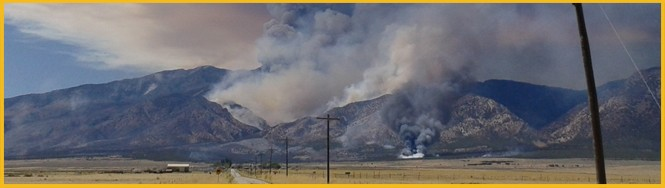 The Patch Springs Fire burned over 10,000 acres near Terra, Utah, when it was ignited by a lightning strike in August 2013.