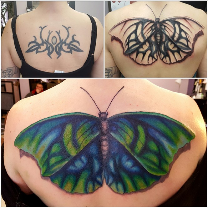 FALLEN ANGEL TATTOOS