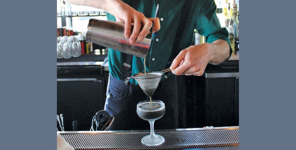 Copper Common bartender Ross Richardson - DARBY DOYLE