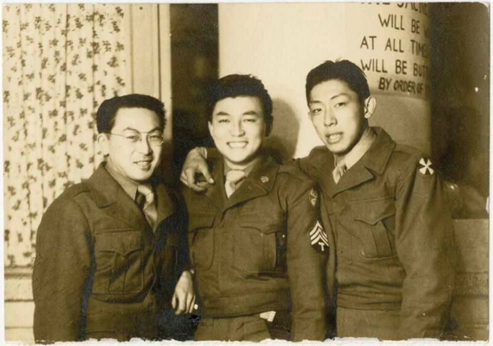 David Hisato Yamate, right - SPECIAL COLLECTIONS, J. WILLARD MARRIOTT LIBRARY, UNIVERSITY OF UTAH