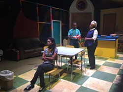 Jenna Newbold, Clinton Bradt and Yolanda Wood Stange in Surely Goodness and Mercy - SALT LAKE ACTING COMPANY