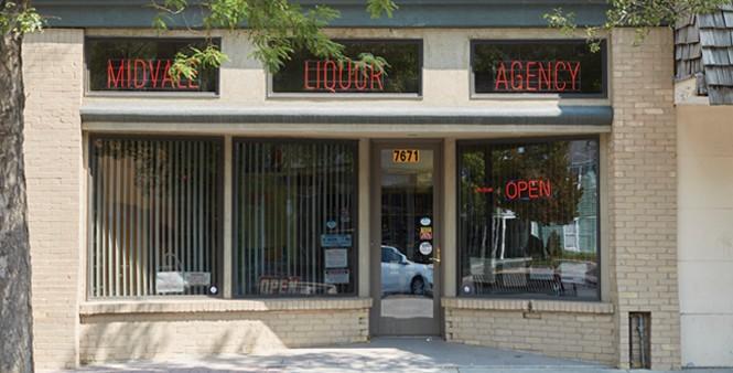 """Best little liquor store in the - West,"" says Midvale City's Butte - STEVEN VARGO"