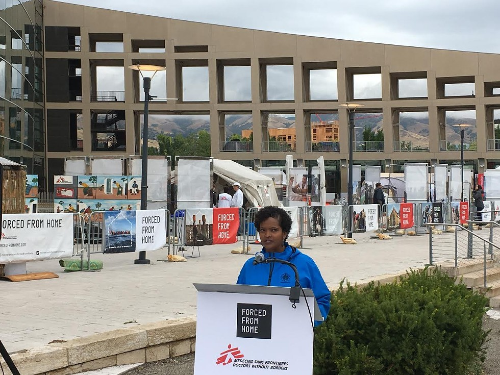Fatima Dirie, Salt Lake City refugee community liaison. - DW HARRIS
