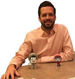 Pixar cloth department animator Emron Grover - SCOTT RENSHAW