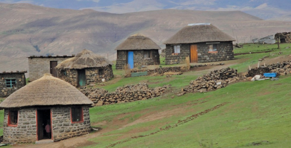Lesotho mountain village - USAID AFRICA BUREAU