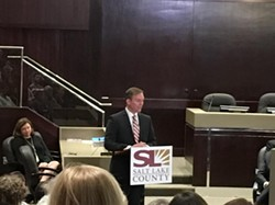 """""""Criminals and victims of the opioid epidemic had turned part of the downtown area into a crisis zone,"""" McAdams said. - DW HARRIS"""