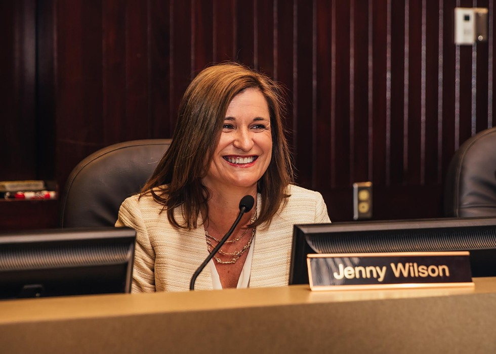 "Salt Lake County Councilwoman and Senate candidate Jenny Wilson believes Congress needs new blood. ""There has to be a new generation of leaders that step up and say enough is enough. The Senate is an old boys club,"" she says. - MAX RUTHERFORD"