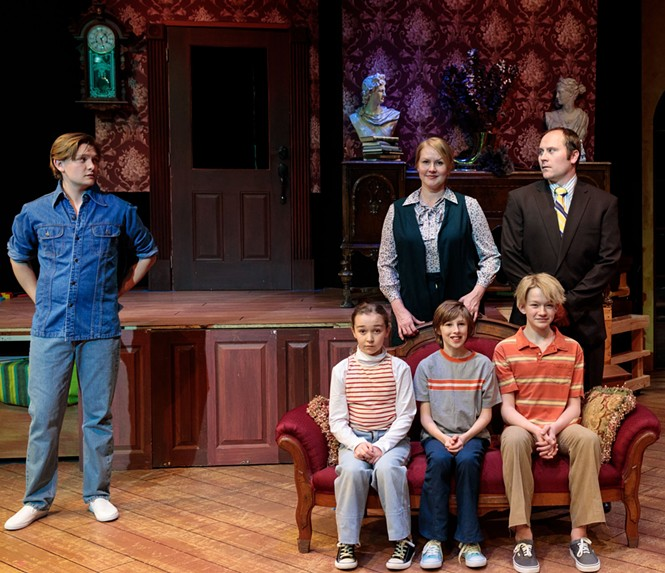 Cast of Salt Lake Acting Company's Fun Home - DAVID DANIELS