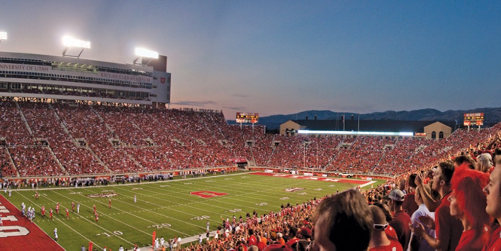 Rice Eccles Stadium - BRENTON WALKER