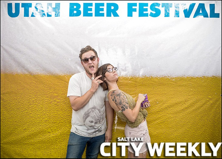 2015 Utah Beer Festival Photo Booth by The Photo Collective