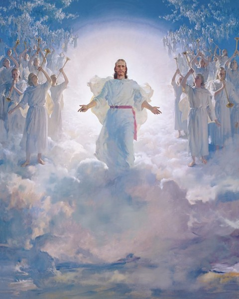 """""""The Second Coming"""" by Harry Anderson - VIA LDS.ORG"""