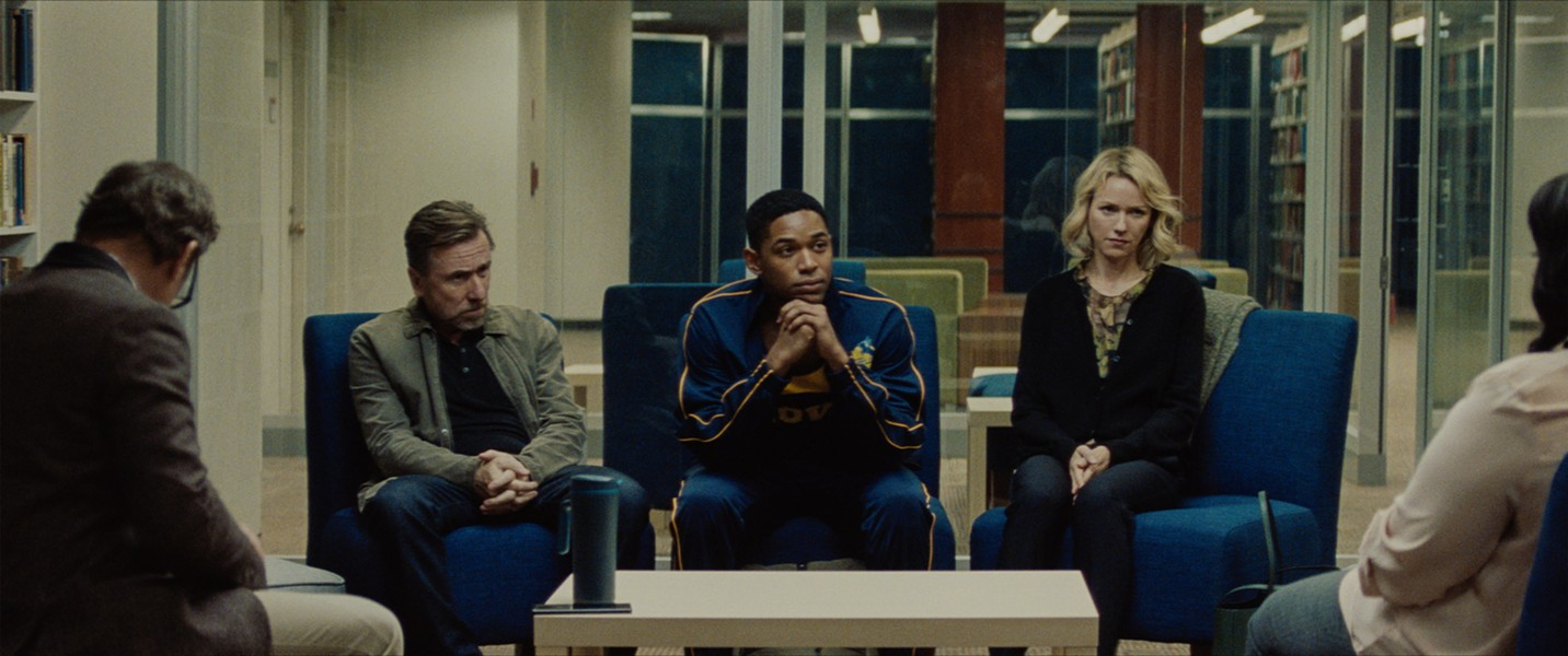 Tim Roth, Kelvin Harrison Jr. and Naomi Watts in Luce - SUNDANCE INSTITUTE