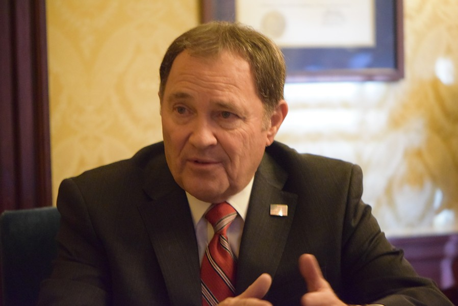 """[T]his was a much harder session,"" Gov. Herbert told City Weekly on Thursday. ""A lot of heavy lifting, a lot of complex issues, a lot of emotion out there."" - RAY HOWZE"