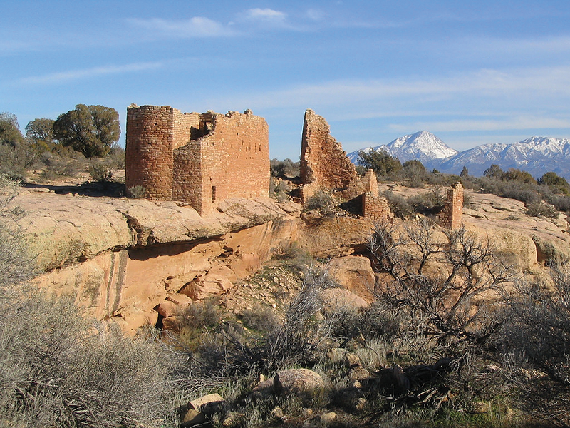 The National Park Service, BLM's sister agency, has written to the bureau before the  scheduled lease sales asking them not to lease parcels on the doorstep of Hovenweep National Monument. - KEN LUND