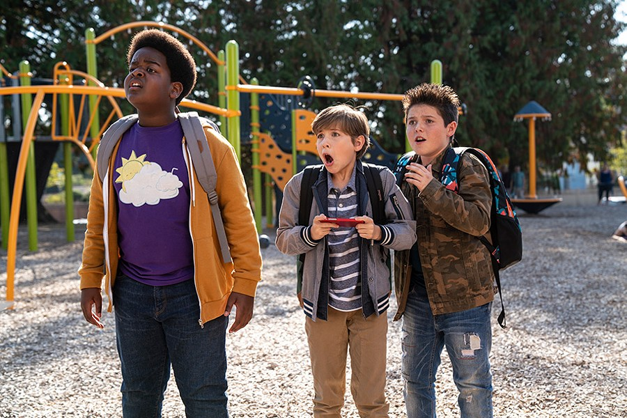 Keith L. Williams, Jacob Tremblay and Brady Noon in Good Boys - UNIVERSAL PICTURES