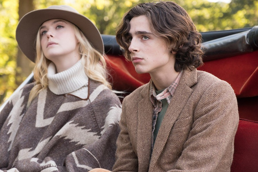 Elle Fanning and Timotheé Chalamet in A Rainy Day in New York - MPI MEDIA GROUP