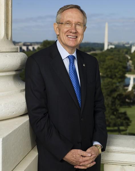 Sen. Harry Reid, D-Nevada - OFFICIAL PHOTO