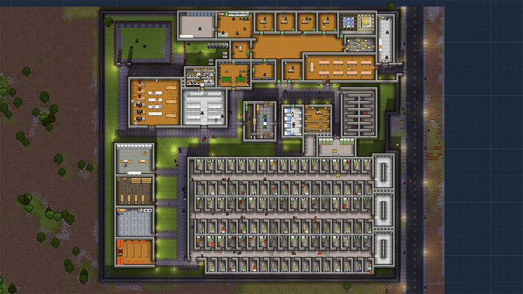 It's like Sim City. If the buildings were people and their rent were license plates. - DOUBLE ELEVEN
