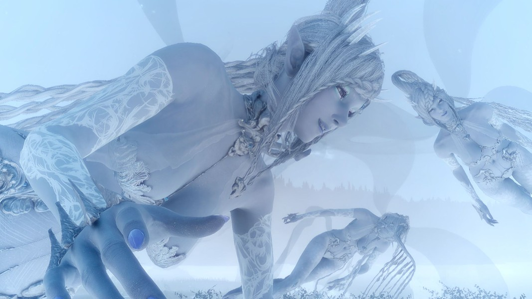 Somewhere in the afterlife, vixens are awaiting us in lace. - SQUARE ENIX