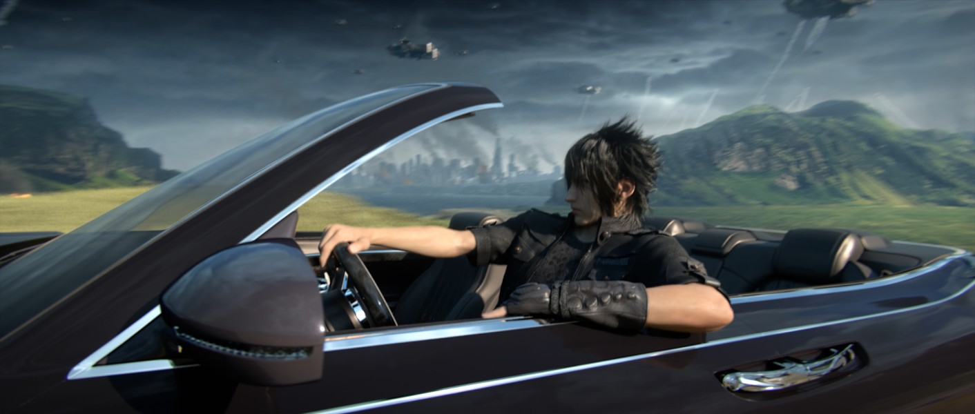 Cruisin' in my 64, with all my Lucis' sayin'... - SQUARE ENIX
