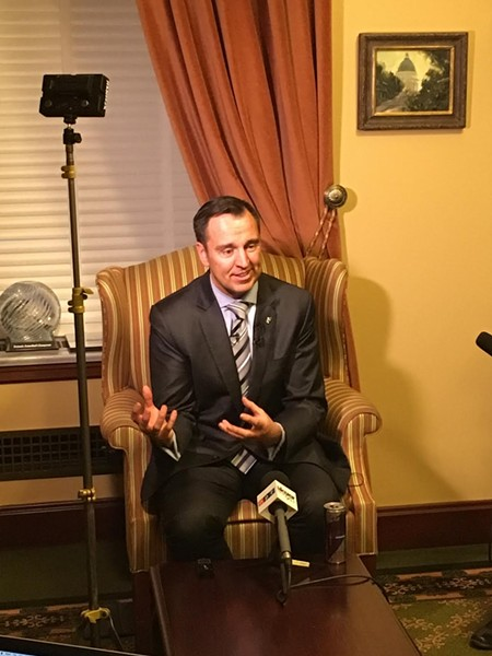 """""""We've communicated well,"""" House Speaker Greg Hughes said on Thursday. """"There hasn't been any gamesmanship."""" - DW HARRIS"""
