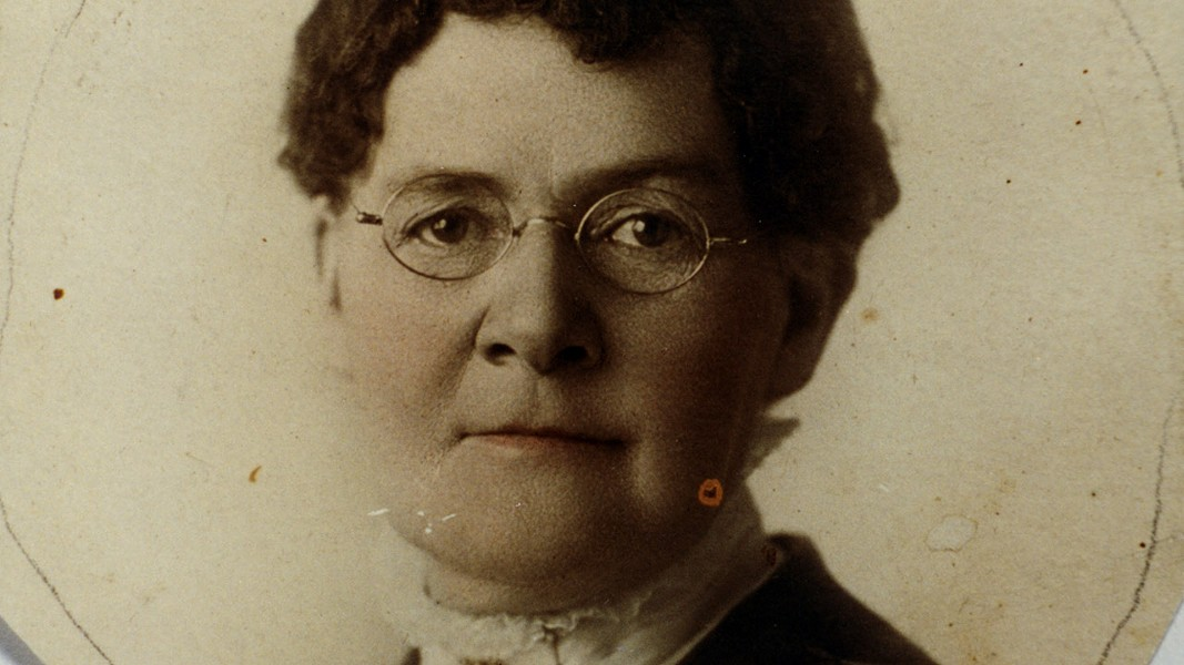 State senator, sister wife, women's rights advocate, suffragist and Doctor Martha Hughes Cannon. - VIA PBS.ORG