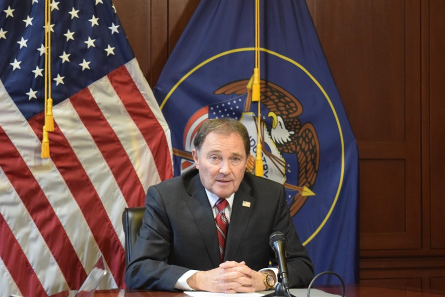 Gov. Gary Herbert signed Senate Bill 234 into law midday on Friday. - RAY HOWZE/FILE