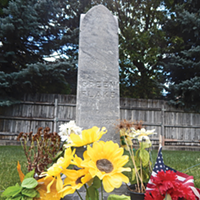 The grave marker for one of the first black Mormon pioneers can be found at the Union Fort Pioneer Cemetery in Cottonwood Heights.