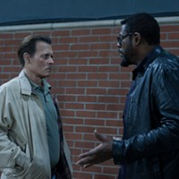 Johnny Depp and Forest Whitaker in City of Lies