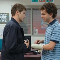 Colton Ryan and Ben Platt in Dear Evan Hansen