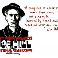 Executed a Century Ago by a Utah Firing Squad, Joe Hill to be Recognized