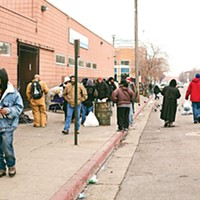 """""""Currently what you're seeing is 1,000 people coming in at night, 1,000 people leaving in the morning and we have drug dealers preying on them,"""" Biskupski said of the current setup on Tuesday."""