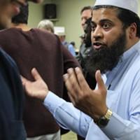 Utah Islamic Center's Shuaib Din.